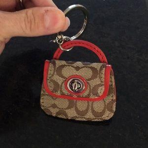 Coach Key chain